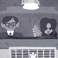 Movie poster illust-Tokyo taxi thumbnail image